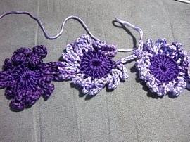 Crochet Flower Dress 6