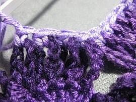 Crochet Flower Dress 8