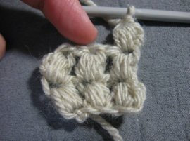 Crochet Puff bow 12 -1