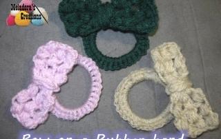 Crochet Puff bow 18 600