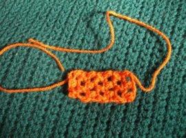 Crochet Puff bow 6