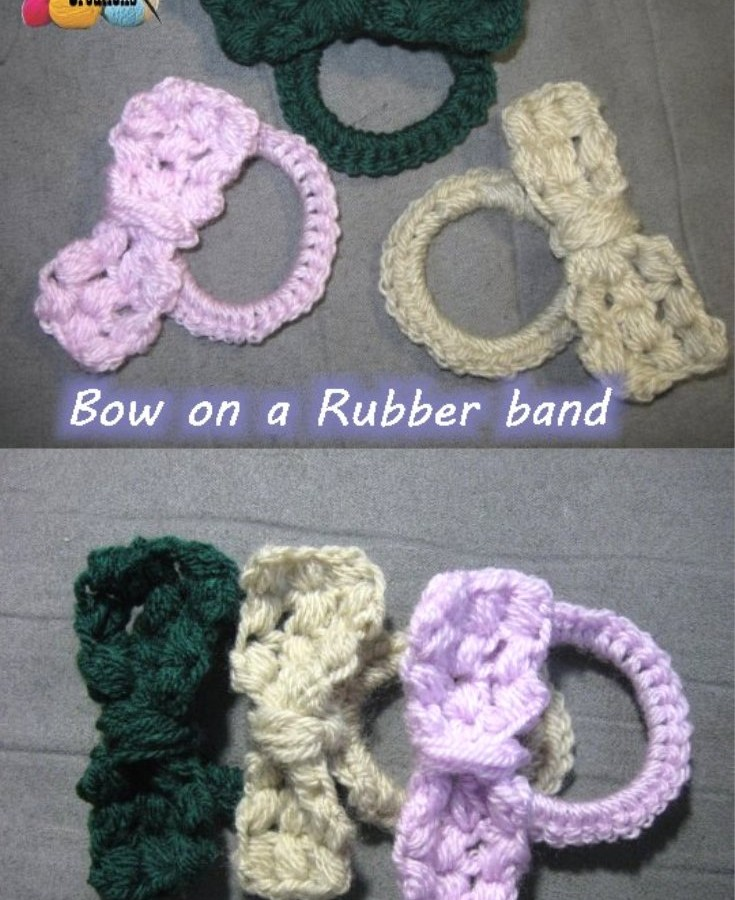 Crochet Puff bow pinterest