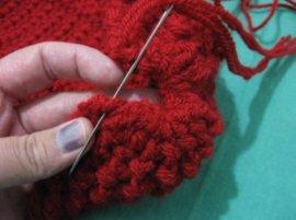 Crochet booties 17 -1