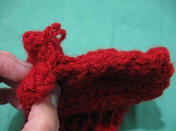 Crochet booties 24