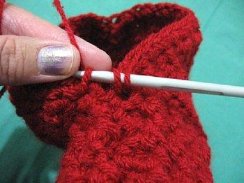 Crochet booties 27