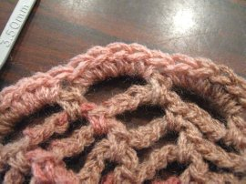 Crocheted Hair Bun 10