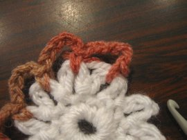 Crocheted Hair Bun 6