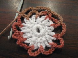 Crocheted Hair Bun 8