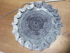Crocodile Stitch Draw Bag 1