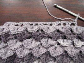 Crocodile Stitch Draw Bag 10