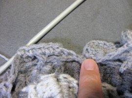 Crocodile Stitch Draw Bag 12