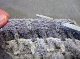Crocodile Stitch Draw Bag 14