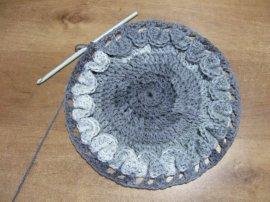 Crocodile Stitch Draw Bag 3