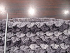 Crocodile Stitch Draw Bag 6