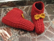 Finished booties 1