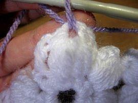 Flower & Granny Baby Blanket 14