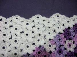 Flower & Granny Baby Blanket 3