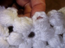 Flower & Granny Baby Blanket 7