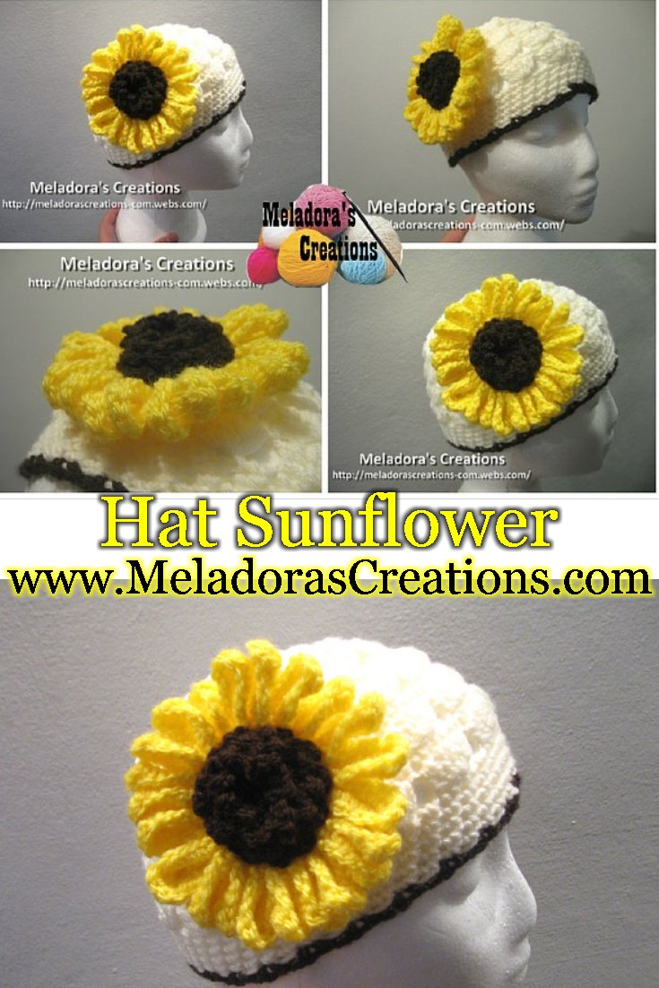 Large Crochet Sunflower - Free Crochet Pattern and Tutorial