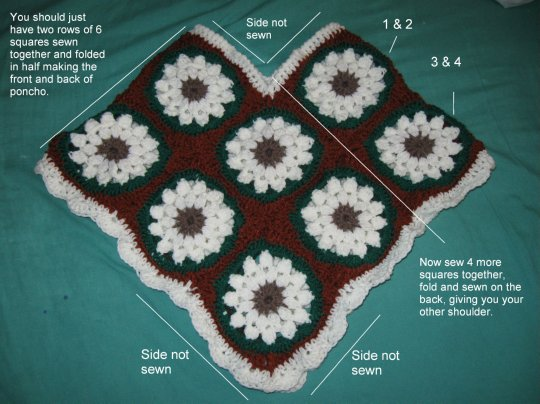 Lilly's Granny Shawl Help 2