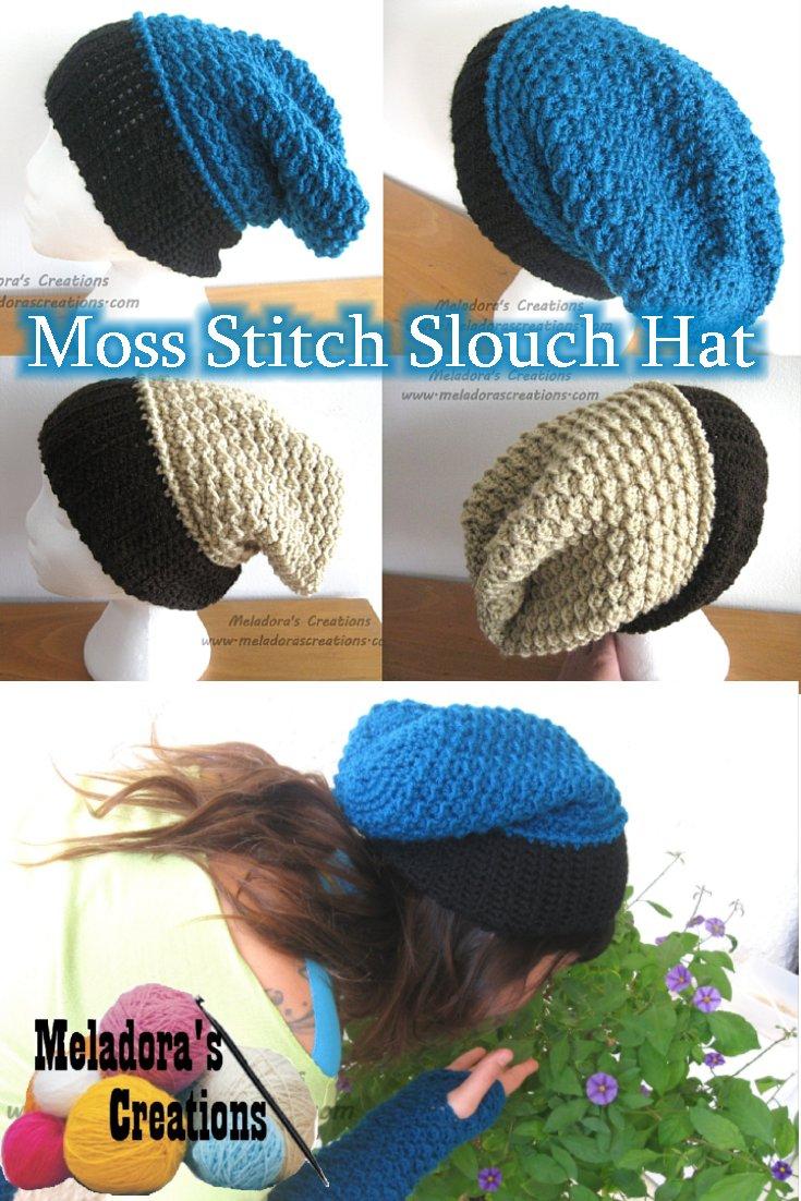 Greg Bourdy Half Double Crochet Slouchy Hat Pattern Diagram And On Pinterest