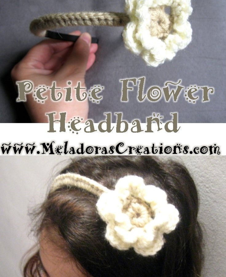 Petite Flower Headband pinterest
