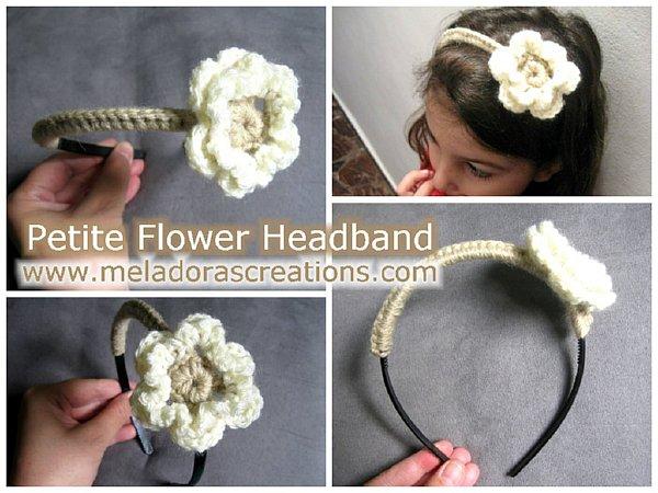Petite headband comb