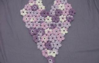 Puff Flower Heart 1 - 1