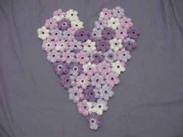 Puff Flower Heart 1 -1