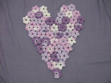 Puff Flower Heart 1 -1