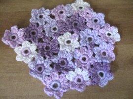 Puff flower circle 1