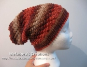 Raspberry Stitch Slouch Hat 1 - 1