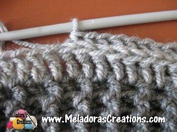 Riptide Slouch Hat - Beehive slouch Hat Free Crochet Pattern