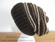 Riptide Slouch Hat Browns Display pic