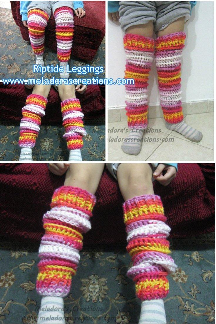 Riptide Crochet Leggings - Free Crochet Pattern