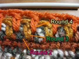 Thick crochet mesh Pot holder 10