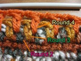 Thick crochet mesh Pot holder 10