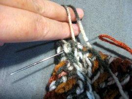 Thick crochet mesh Pot holder 17
