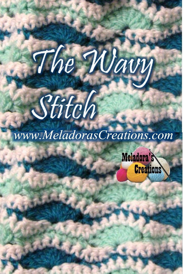 The Wavy Stitch - Free Crochet Pattern