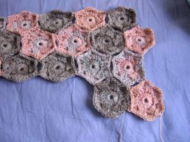 Hexagon Baby Blanket - Free Crochet Pattern