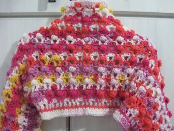 Bolero Jacket Free Crochet Pattern Meladora S Creations