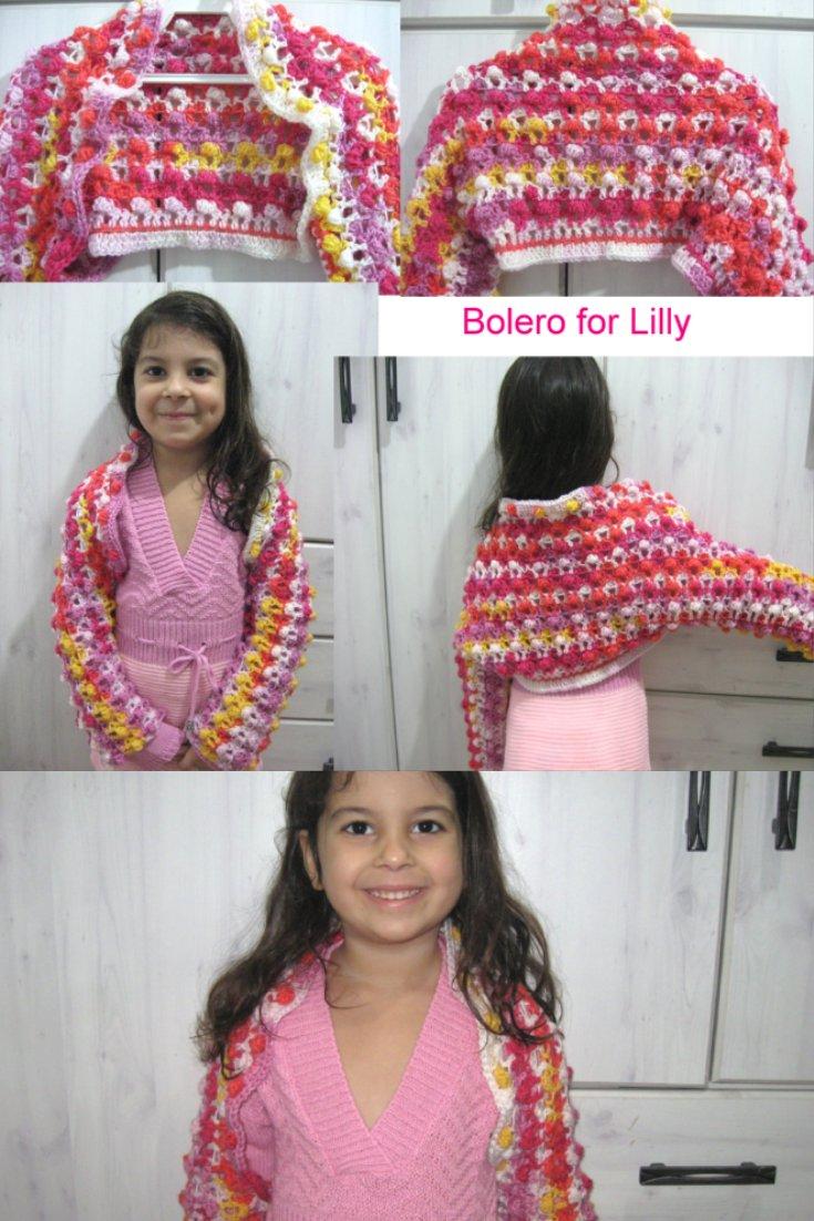 Crochet Bolero Jacket - Free Crochet Pattern