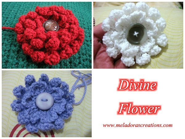 Divine Flower - Free Crochet Pattern