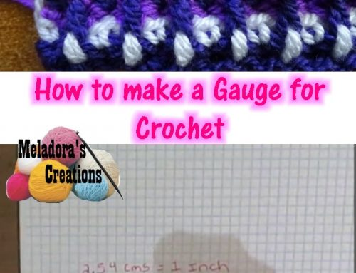 Crochet Gauge – How to use a Gauge in crochet
