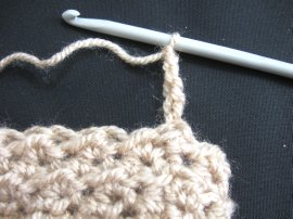 Moss Stitch FIngerless Gloves 3