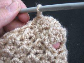 Moss Stitch FIngerless Gloves 8