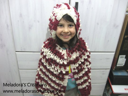 Cape And Hood Free Crochet Pattern