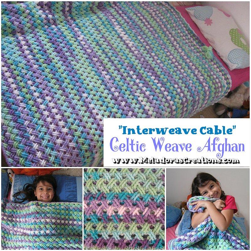 Interweave Cable Celtic Weave Crochet Stitch - Free Crochet Pattern