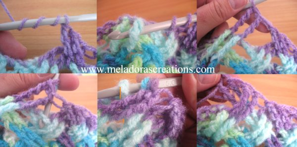 Interweave Cable Stitch Combined small