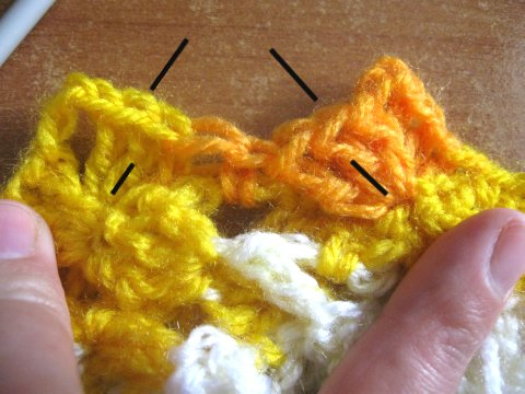 Woven Shell Stitch 3